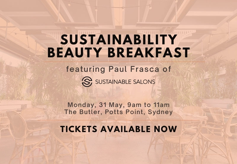 Professional Beauty magazine will host a Sustainable Beauty Breakfast May 31st at The Butler with guest speaker Paul Frasca