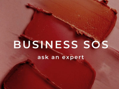 business SOS column where we get experts to answer your beauty industry business queries