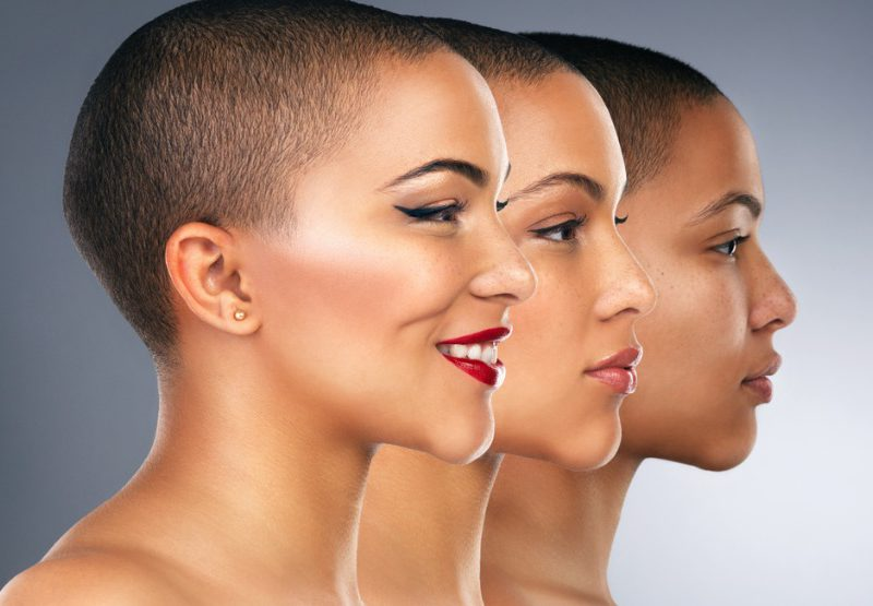 Beauty salon marketing with salon before and after photos